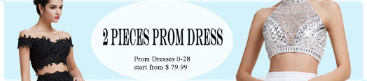 Two Pieces Prom Dresses